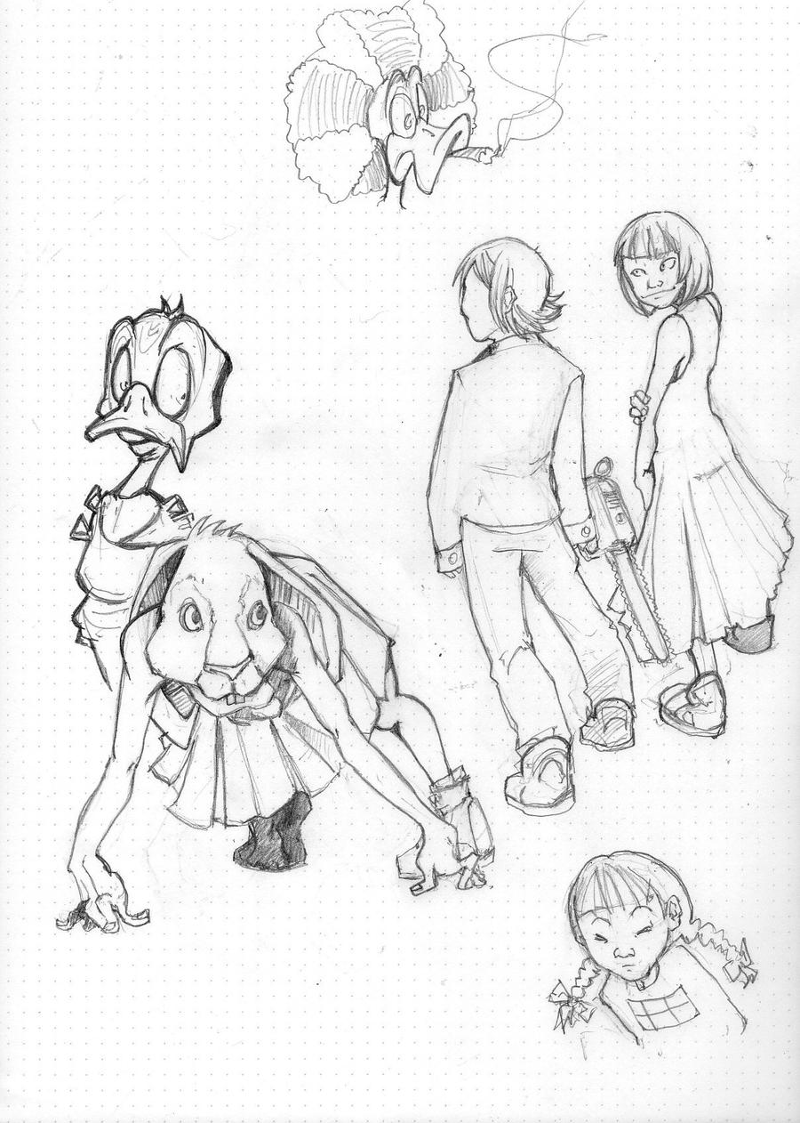 yume nikki sketch by ReeD82