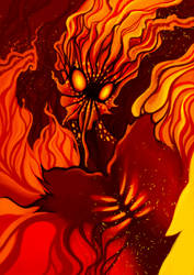 Burn by Asderuki