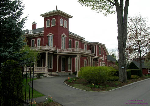 Stephen Kings House Side View