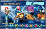 Trainer Card - Blue