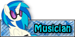 FiM Custom Rank - Musician by FrozenNightingale
