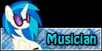 FiM Custom Rank - Musician by FrozenNightingale