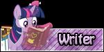 FiM Custom Rank - Writer by FrozenNightingale
