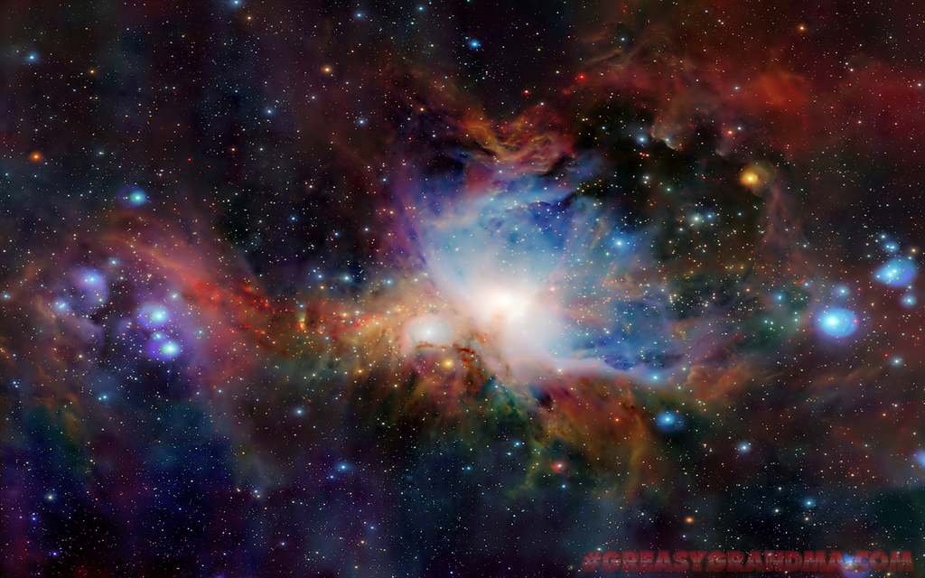 Orion Nebula Wallpaper -14x9- by GreasyGrandma