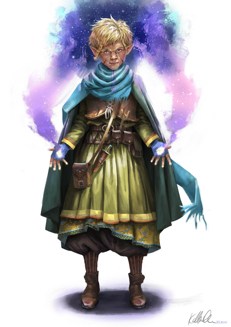 Young Elf by Kallasch
