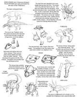 Ankylosaur tutorial by Droemar