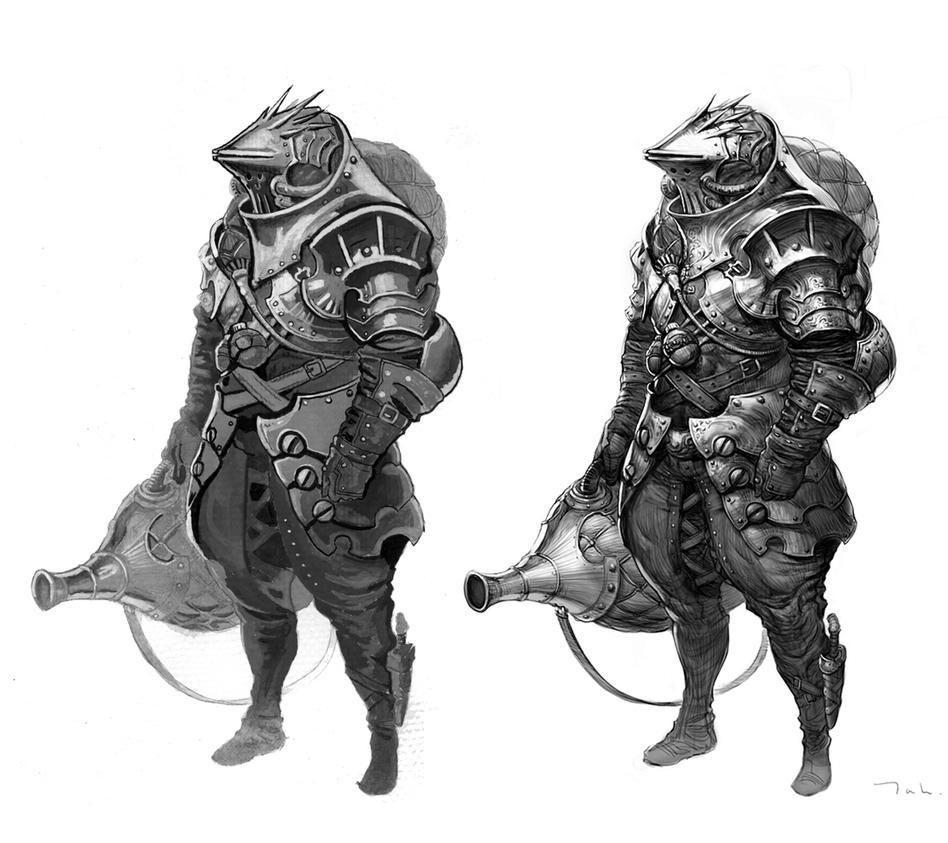 Armor Study by Droemar