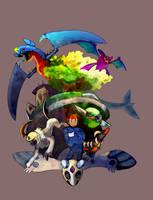 Pokemon Team by Droemar