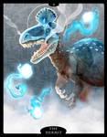 The Dinosaur Tarot - 09 - The Hermit