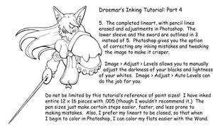 Inking Tutorial: Part Four by Droemar