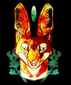 Ethiopian Wolf Design