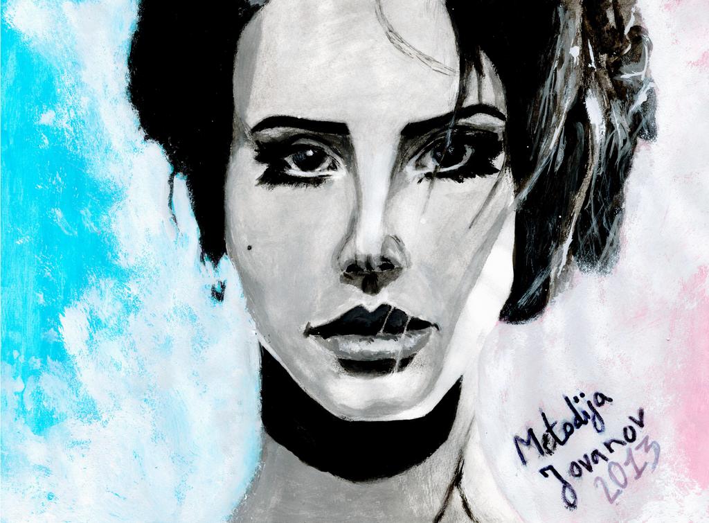 Lana Del Rey by metodijajovanov
