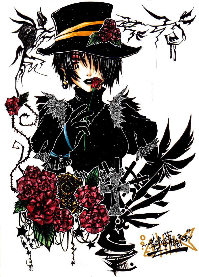 Ms. Gothic by alcrestkiera