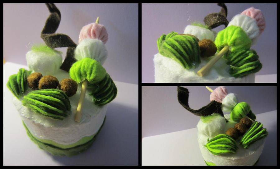 Green Tea Cake by allyalltheway