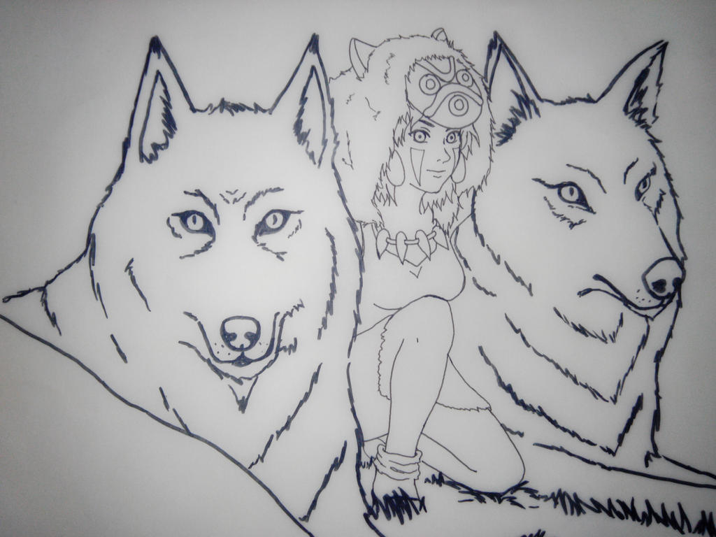 Princess Mononoke by lianne07