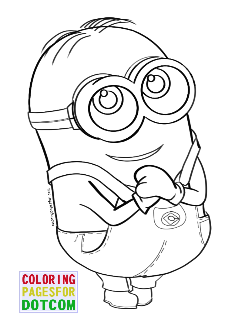 Minions Coloring Pages 3 By Blackartist22 On DeviantArt