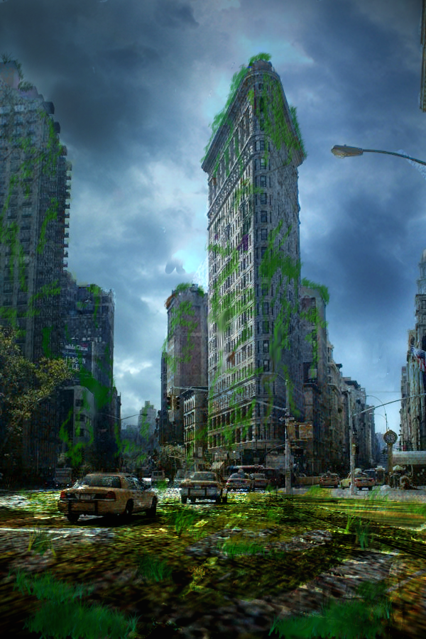 Concept Art : Post-Zombie apocalypse city by snakexiii13 ...