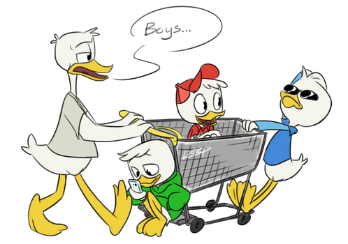 Draw The Squad 3: Duncle Needs a Moments Peace by DeepestPainter