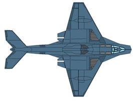 B-415 Blackout Strategic Bomber by wbyrd