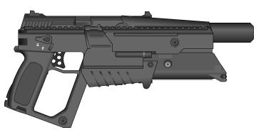 Plasma Pistol by wbyrd