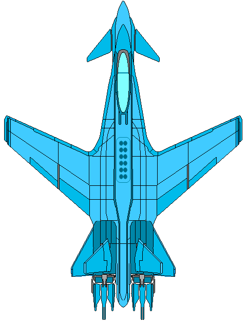 Q-95 Quetzal Air Superiority  fighter by wbyrd