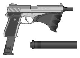 RHI Combat Automatic Pistol by wbyrd