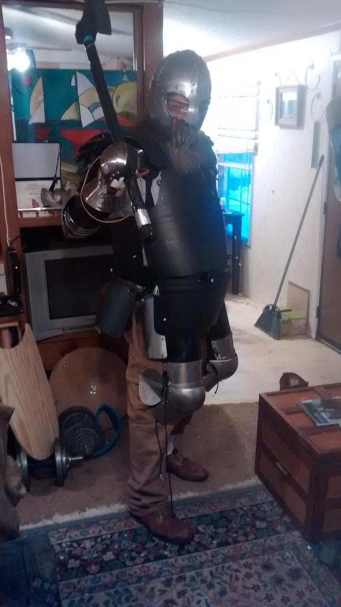 New SCA armor. by wbyrd