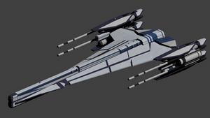 Apache Class Strike Frigate