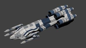 Attack Corvette:Hranhngmar Class by wbyrd
