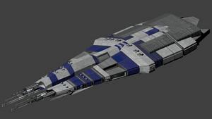 Titan Class AI Dreadnought by wbyrd