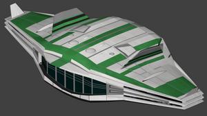 Traveller Safari Ship by wbyrd