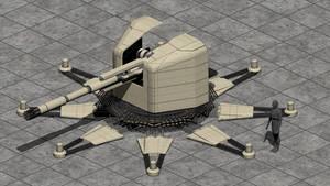 Fixed Heavy Plasma Cannon by wbyrd