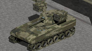 M-5 Hellstorm Tactical Bombardment Vehicle by wbyrd