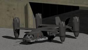 AV55 Gunship Grendel