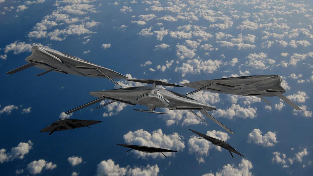 Rigid Airships  by wbyrd