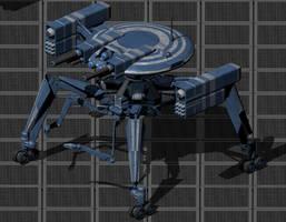 TS-51 AI Combat Drone by wbyrd