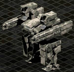 Mauler Superheavy Mechanized Combat Frame
