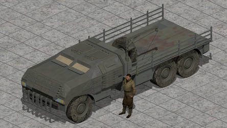 Valkiir Gibbs Motor Works MRAP Truck by wbyrd
