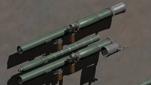 M996 'Konservoppnare'  Recoilless Launcher by wbyrd