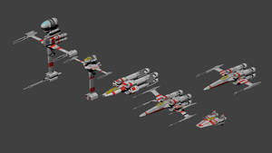 Star Wars Fighters (Rebel)