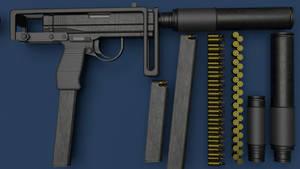 MP-77 'Wasp' Machine Pistol