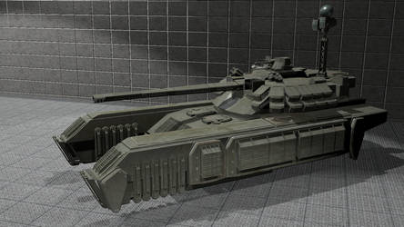 GBT Wolf Gravitic Battle Tank