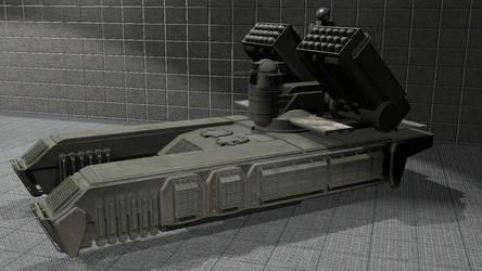 Foxhound MRLS Assault support vehicle by wbyrd