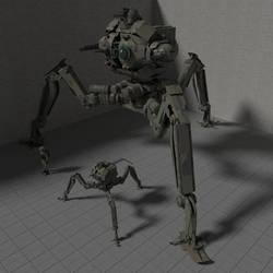 Invader Tripod