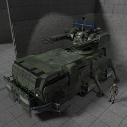 Maelstrom SPAAG Air defense gun