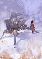 Lonewalker by zhangc