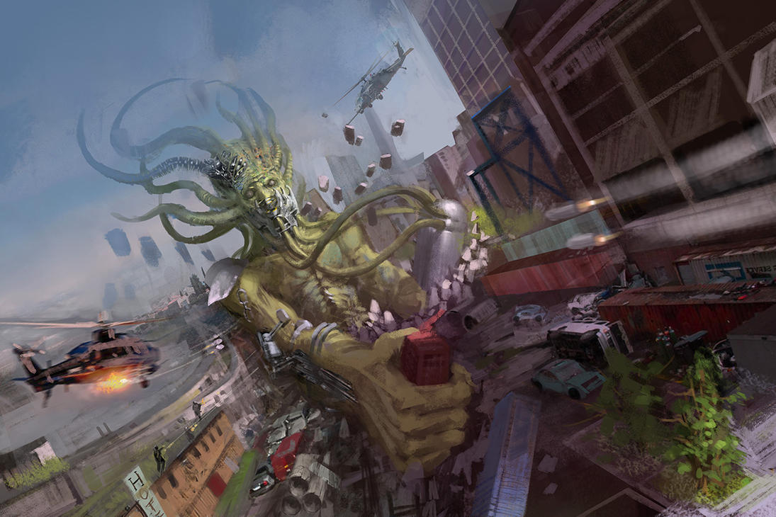 monster demo by zhangc