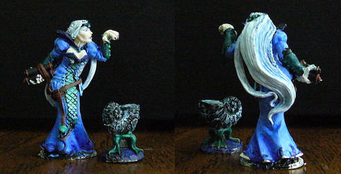 Water Sorceress Figure by Jenphi