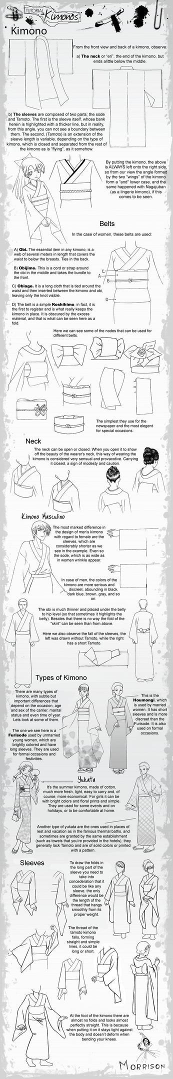 tutorial KIMONO by bunny-hun