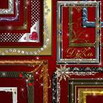 Set decorative frames